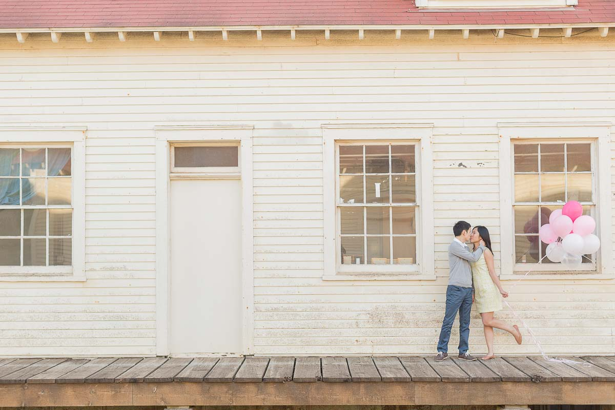 Siqi and Howard engagement photo session by Red Eye Collection