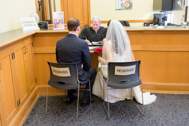 San Francisco City Hall wedding ceremony reservation