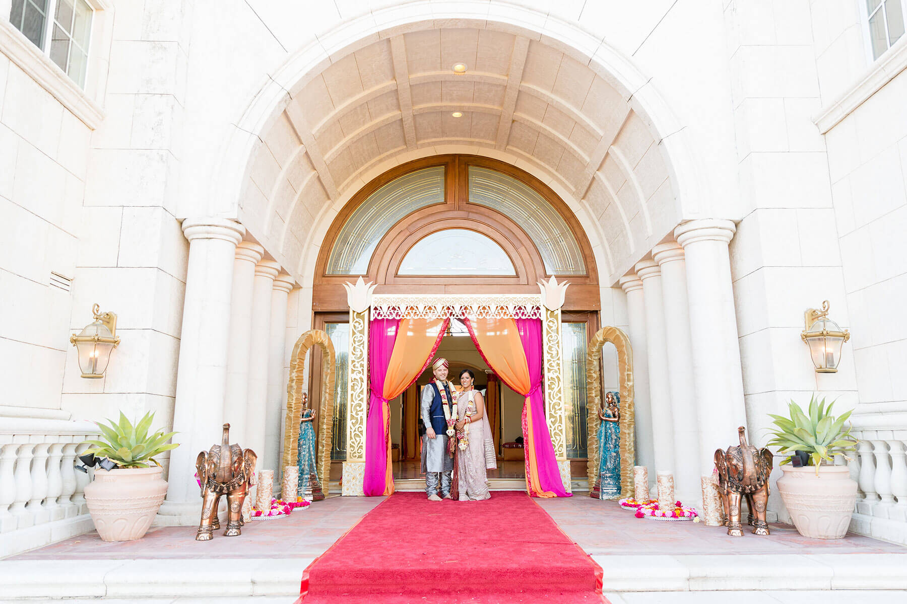 Indian wedding with Nella Terra Cellars wedding