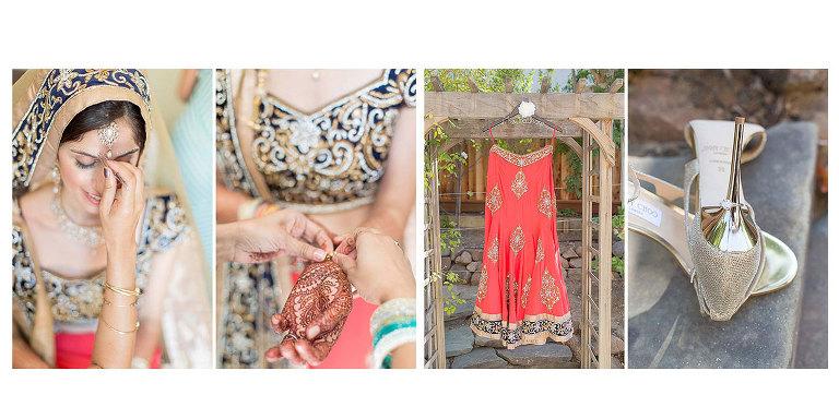 Indian bride close-up wedding photos Bay Area