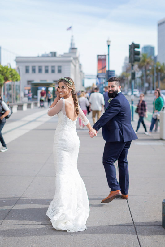 Monique and Patrick San Francisco wedding photography by Red Eye Collection