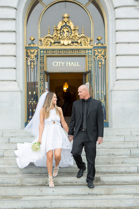 Jessica And Brayton San Francisco City Hall October 26 2016 Wedding Photography