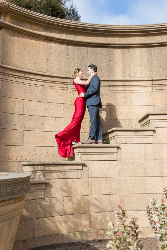 Palace of Fine Arts engagement photos by Red Eye Collection - Lauren and Jory - photo 1