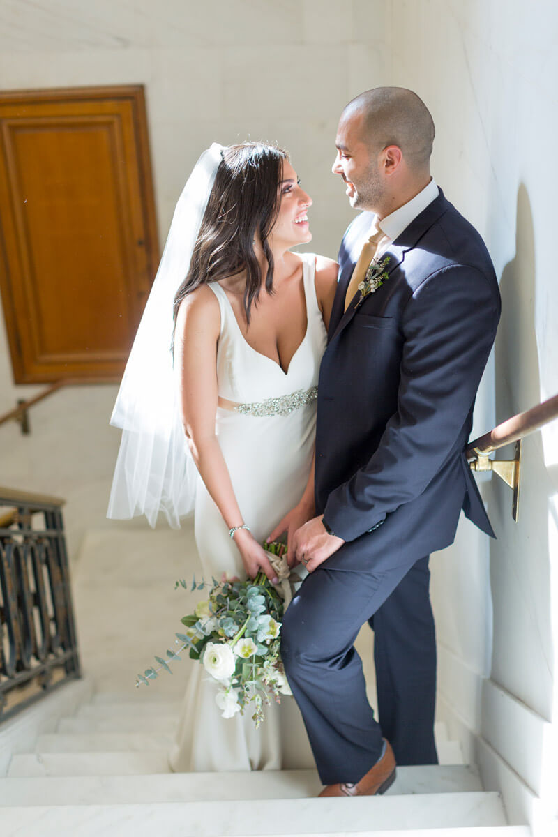 Lindsay and Andrew's private San Francisco City Hall wedding - photo 62
