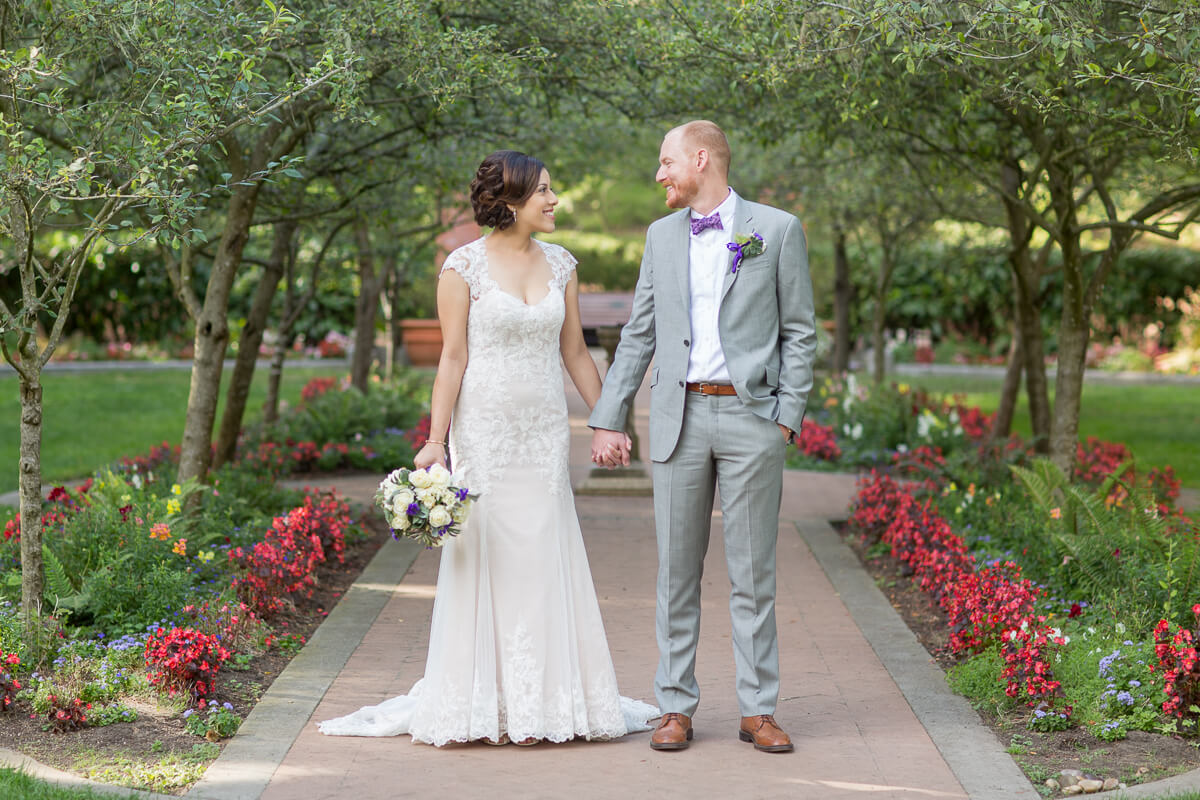 Shakespeare Garden wedding photography by Red Eye Collection in San Francisco Golden Gate Park