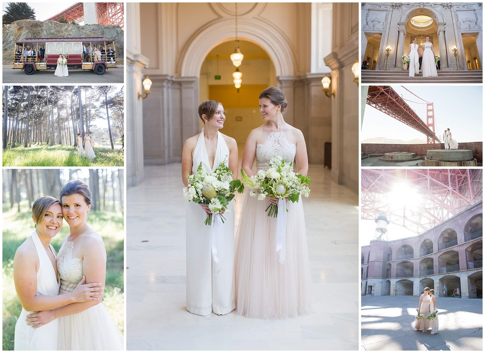 Ashley and Malorie San Francisco wedding photos