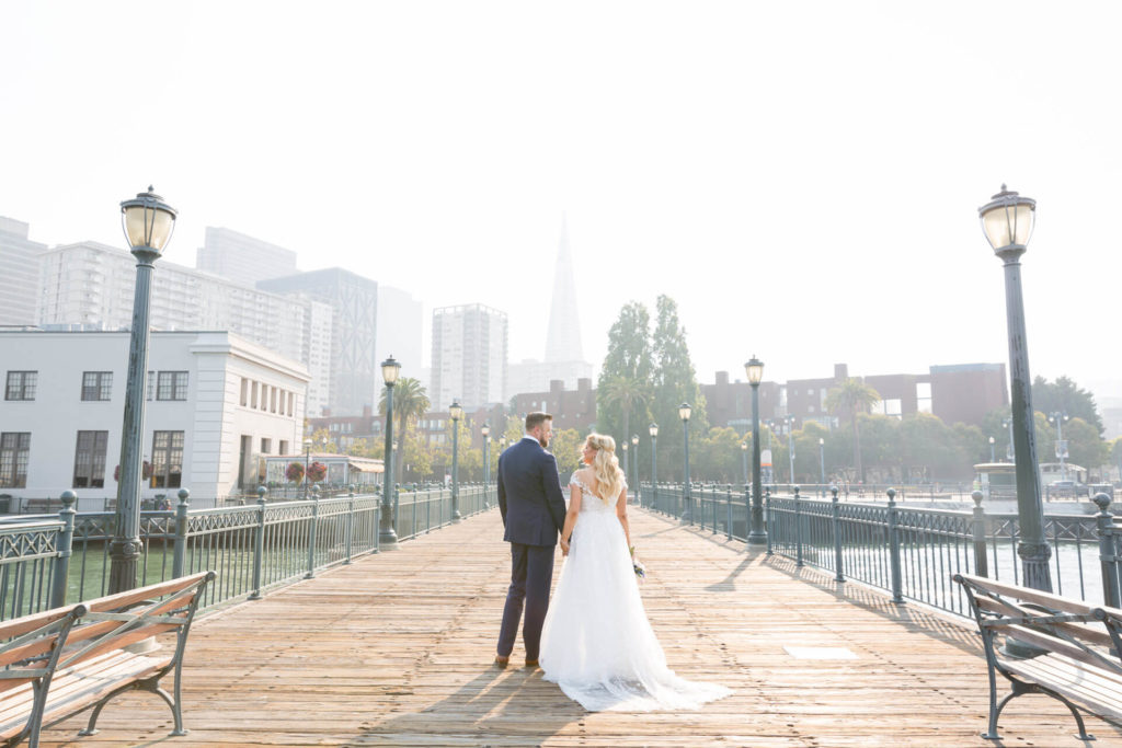 Robyn and Hugh's San Francisco wedding photos by Red Eye Collection - Pier 7 - photo 5