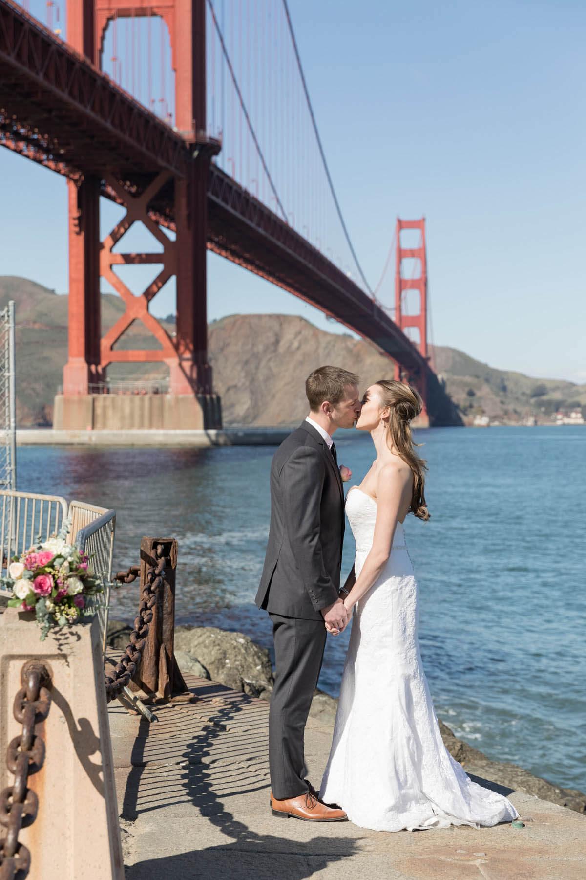 Tasha and Seth's San Francisco elopement - Golden Gate Bridge