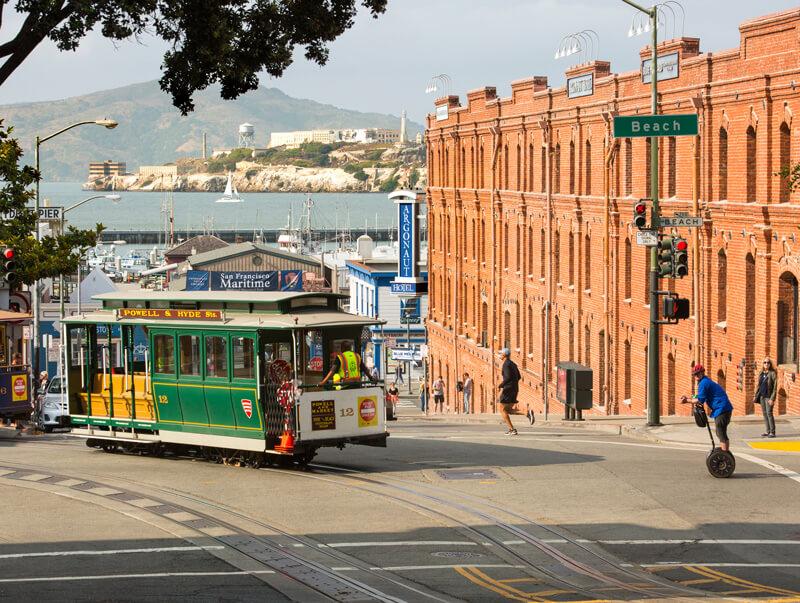 Exterior view of the Argonaut Hotel in San Francisco