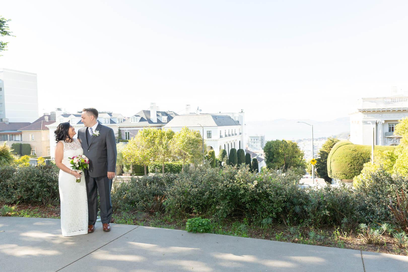 San Francisco wedding - Mark and Derkje - street photo