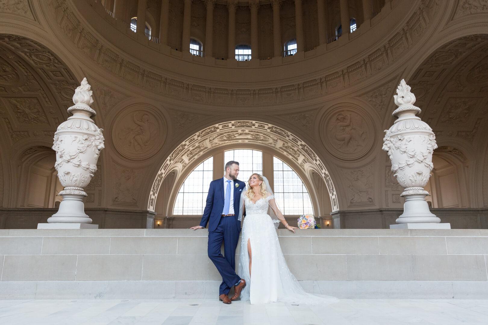 Robyn and Hugh San Francisco City Hall wedding