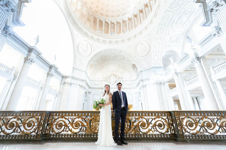Jenna and Stephan SF City Hall wedding