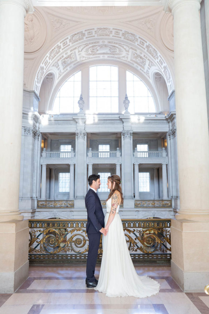 Jenna and Stephan San Francisco City Hall Wedding 82