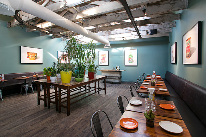 Tacolicious private dining room - mission district