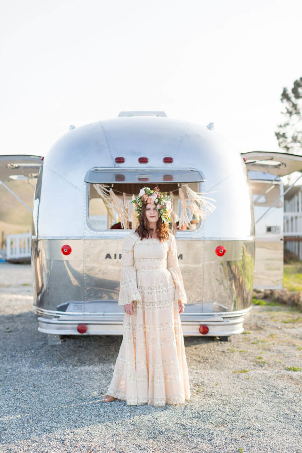 Airstream rental weddings Bay Area