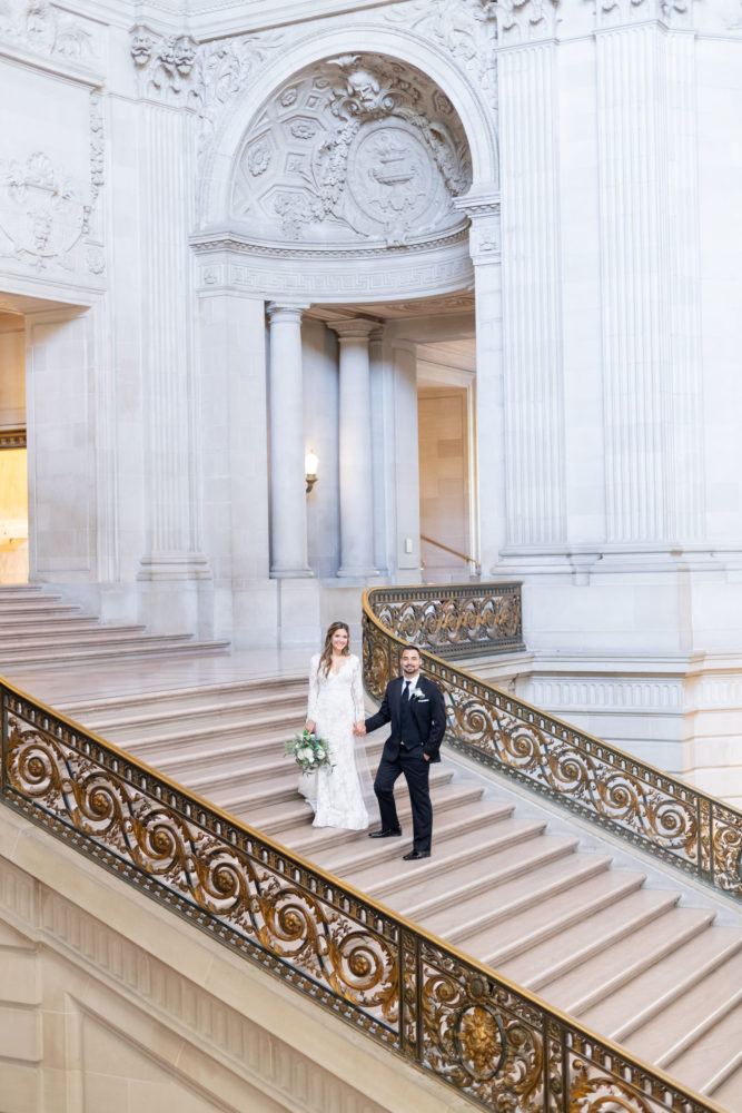 Amanda & Ruvim - SF City Hall wedding