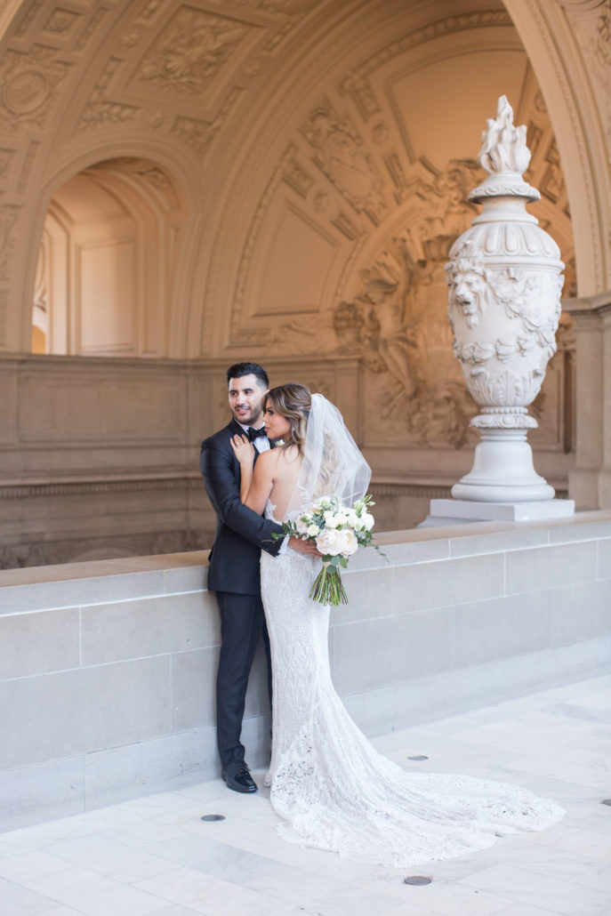 April & Steven - SF City Hall wedding