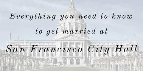 San Francisco City Hall wedding guide